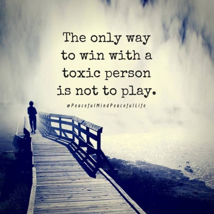 toxic person boundary